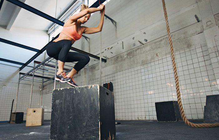 Plyometric Exercises - Box Jumps