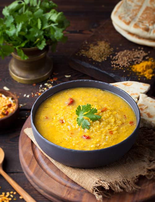 Protein Daal Soup