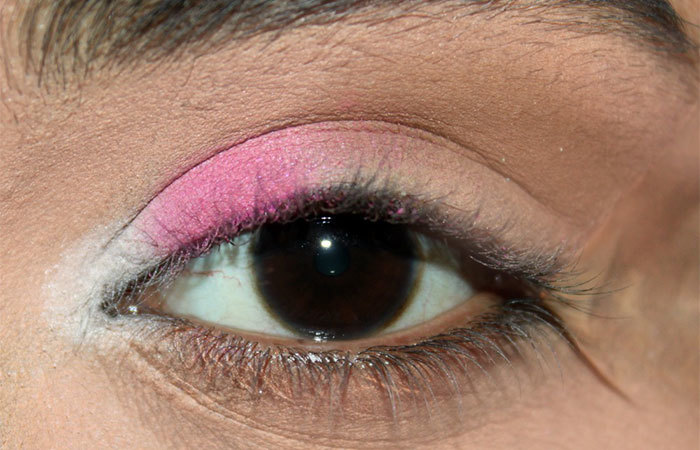 Sultry Pink and Grey Eye Makeup Look Tutorial