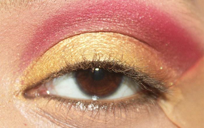 Sunrise Inspired Eye Makeup Tutorial (4)