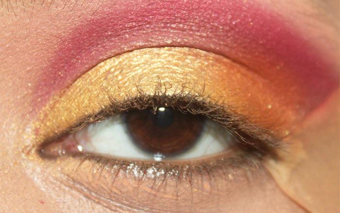 Sunrise Inspired Eye Makeup Tutorial (5)