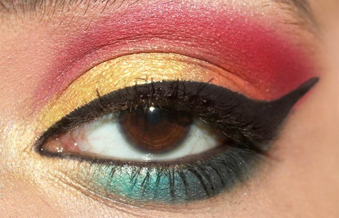 Sunrise Inspired Eye Makeup Tutorial (7)