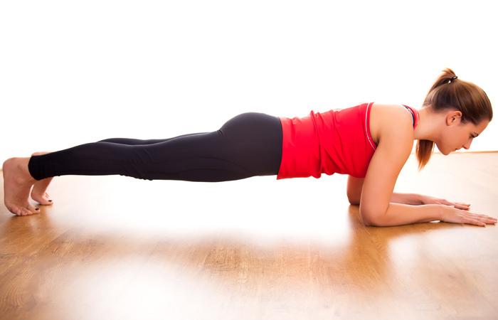 cvičení plank