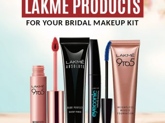 Top 10 Lakmé Products For Your Bridal Makeup Kit