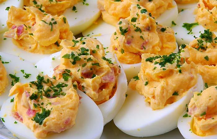 Deviled Egg Recipes - Cajun Spiced Devil Eggs