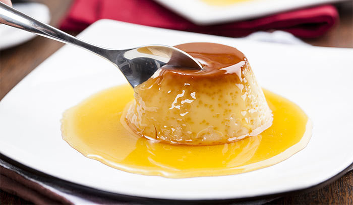 Top 5 fabulous eggless pudding recipes to try out 3 eggless caramel bread pudding forumfinder Images