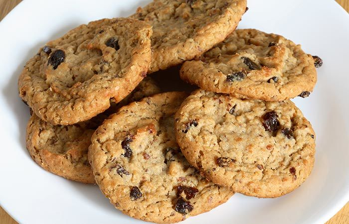 cookies healthy banane