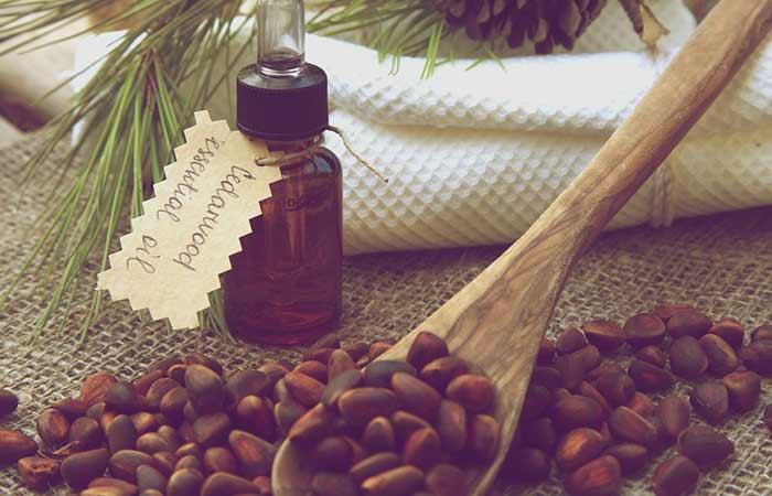 1. Cedarwood Essential Oil