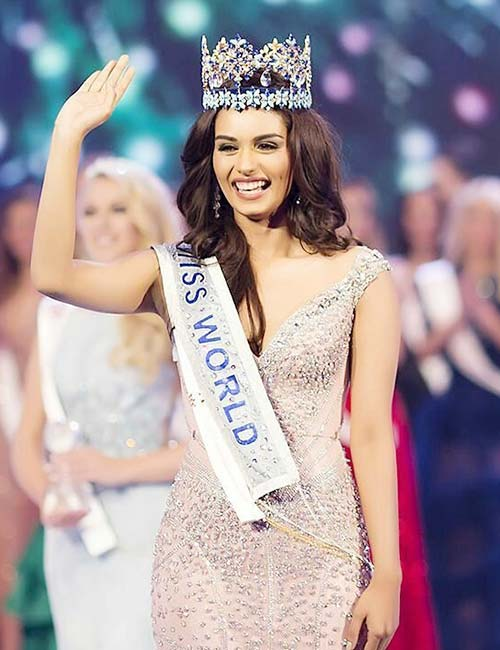 1. Miss World 2017 – Manushi Chhillar