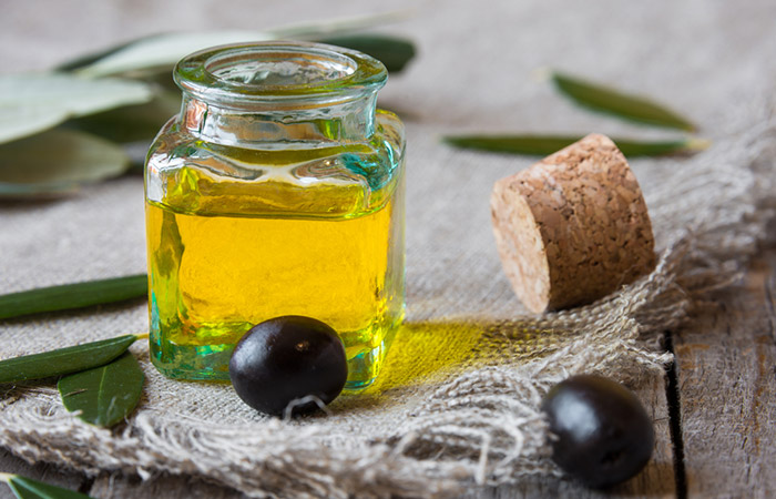 1. Olive Oil For Acne Scars