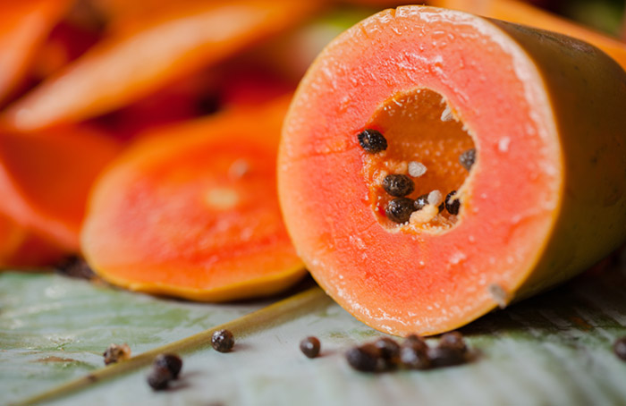 1. Papaya Face Pack For Instant Glow