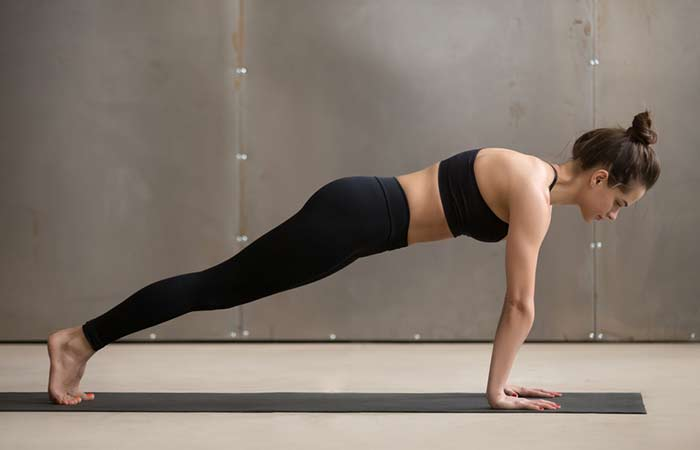 Plank Excercises - Traditional Plank