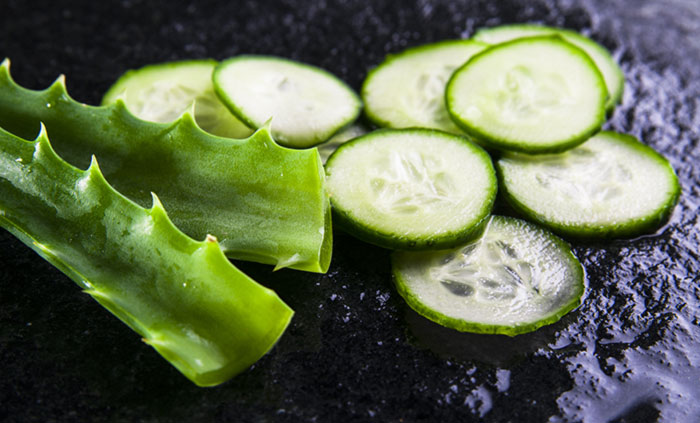 10. Cucumber Mask