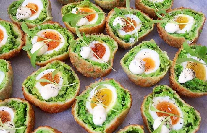 Scotch Egg Recipes - Green Pea Scotch Eggs