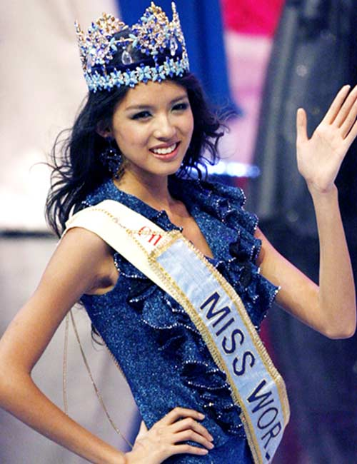 2007 Miss World Winner - Zhang Zilin