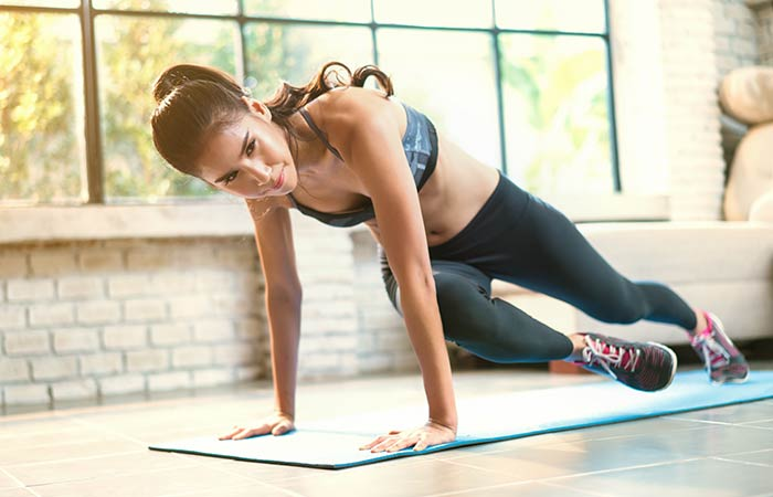 Lower Body Exercises For Women - Mountain Climbers