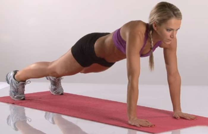 Plank Exercises - Plank Up-Downs