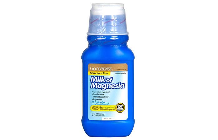 12. Milk Of Magnesia
