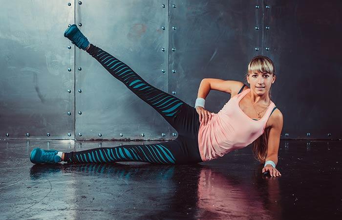 Lower Body Exercises For Women - Lying Side Leg Raises