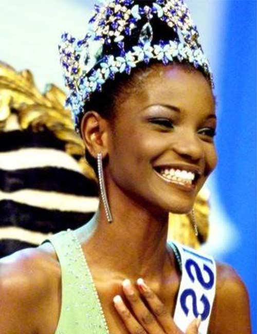 Miss World Of 2001 – Agbani Darego