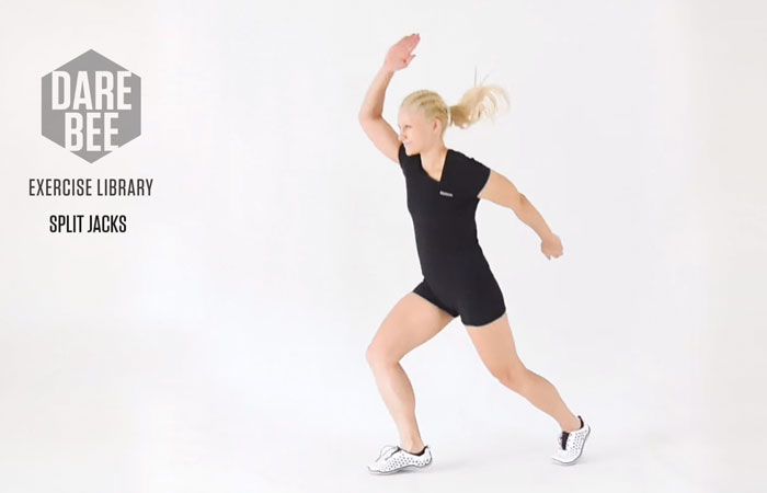 Jumping Jacks - Alternating Jumping Jacks