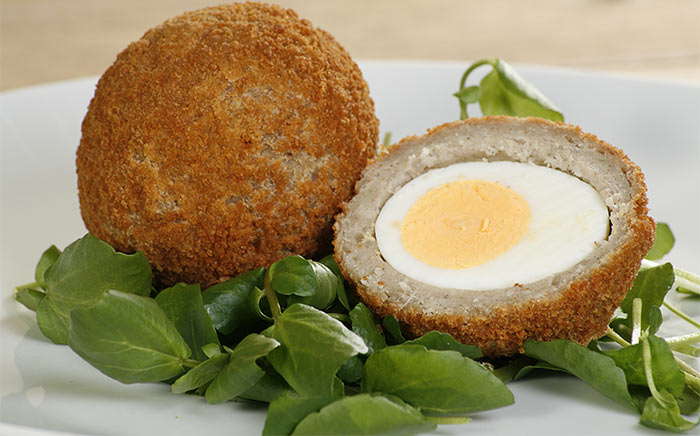 Scotch Egg Recipes - Baked Scotch Eggs