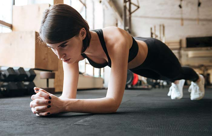 Plank Excercises - Forearm Plank