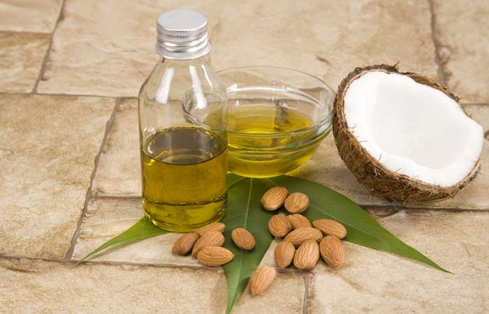Coconut, Almond Oil and Sandalwood Face Pack For Dry Skin