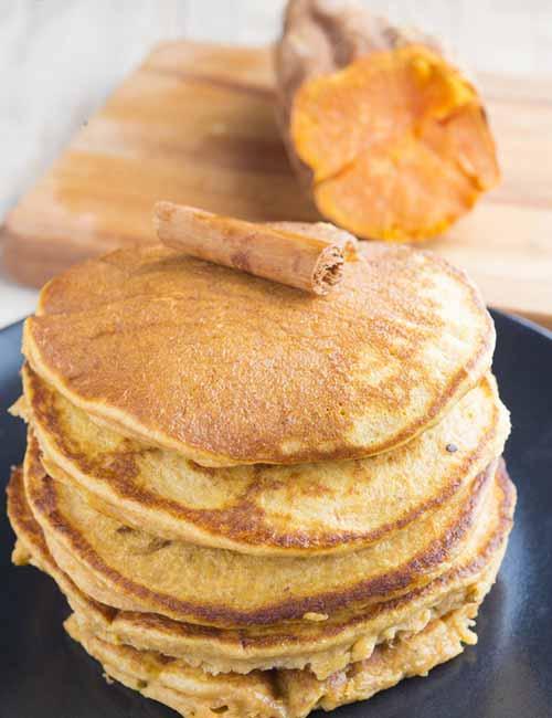 Sweet Potato Diet - Sweet Potato Pancakes
