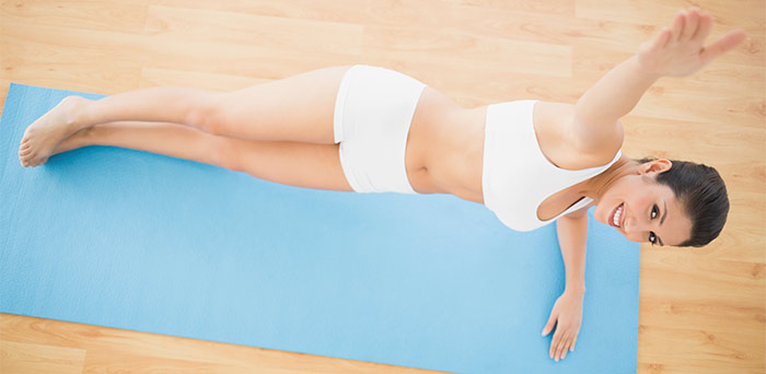 Plank Exercise - Roliing Plank