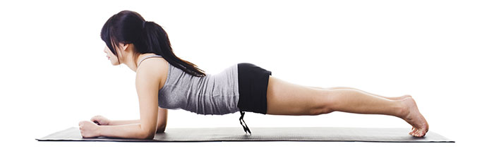 Plank Exercise - Hip Twists