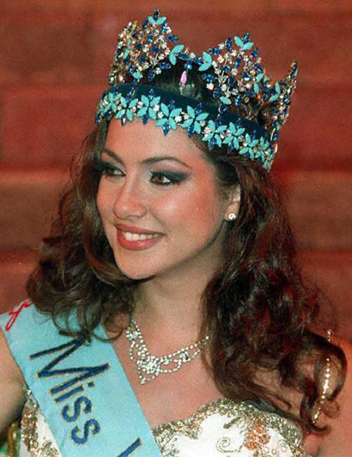 Miss World Of 1996 – Irene Skliva