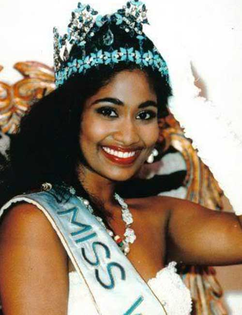 Miss World Of 1993 – Lisa Hanna
