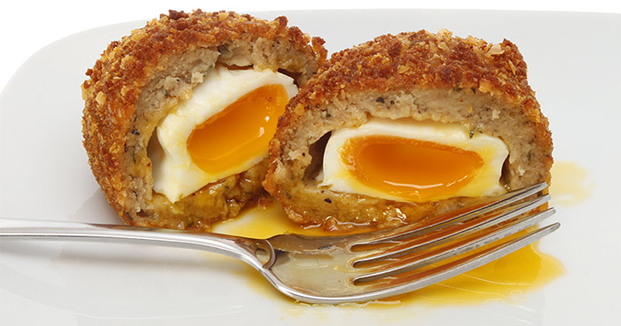 Scotch Egg Recipes - Maple Walnuts Scotch Eggs