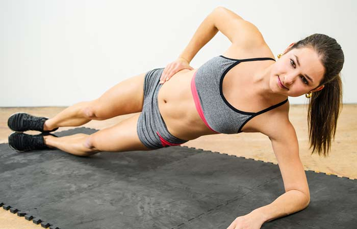 Plank Excercises - Side Elbow Plank