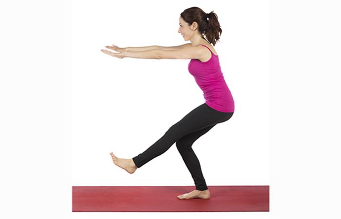 Lower Body Exercises For Women - Single Leg Squat