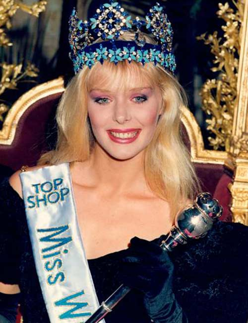 Miss World Of 1987 – Ulla Weigerstorfer