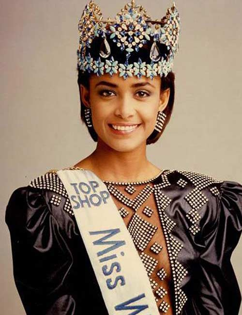 Miss World Of 1986 – Giselle Laronde