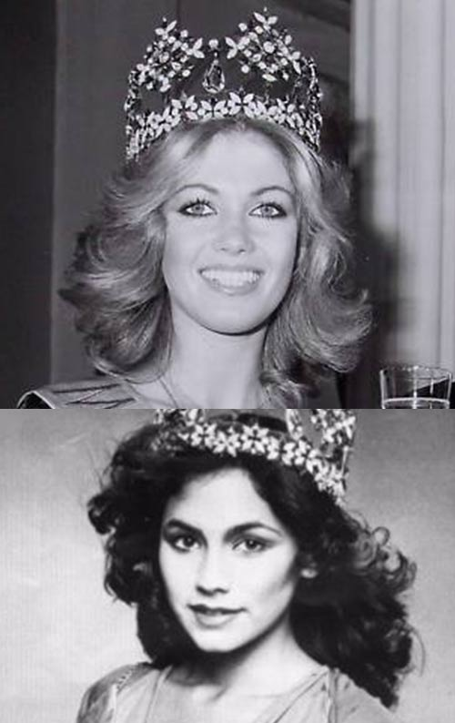 Miss World Of 1980 – Gabriella Brum and Kimberley Santos