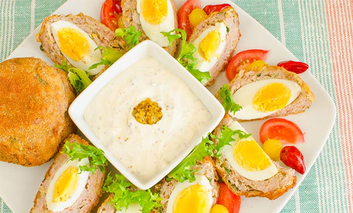 Scotch Egg Recipes - Scotch Deviled Eggs