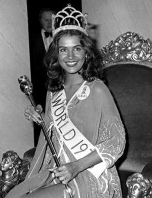 Miss World Of 1976 – Cindy Breakspeare