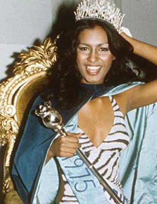 Miss World Of 1975 – Wilnelia Merced