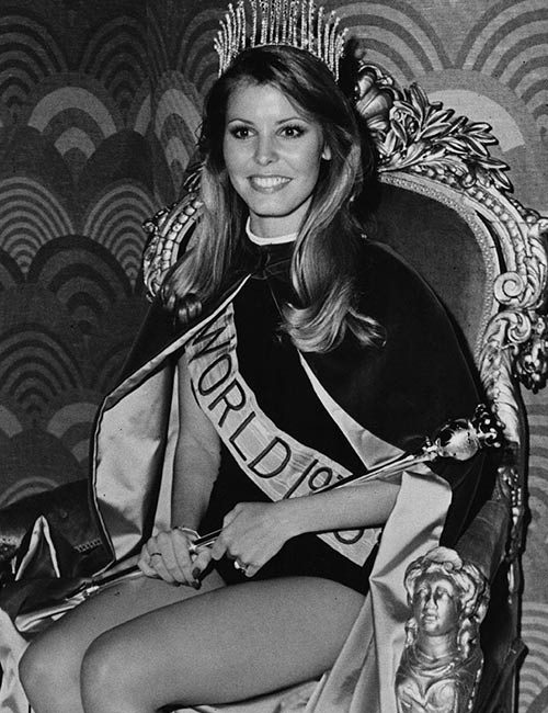 Miss World Of 1973 – Marjorie Wallace