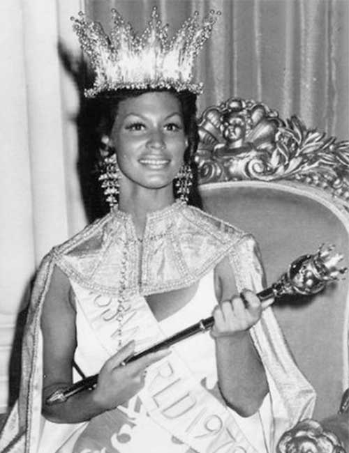 Miss World Of 1970 – Jennifer Hosten