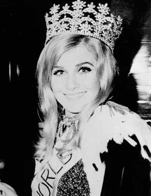 Miss World Of 1968 – Penelope Plummer