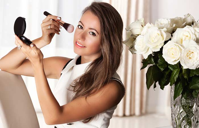 Balance The Blush - Must Follow Makeup Tips for Brown Eyes