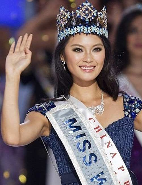 Miss World Of 2012 – Yu Wenxia