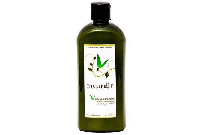 5. Richfeel Aloevera Shampoo