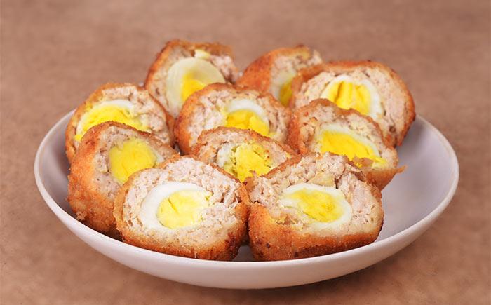 Scotch Egg Recipes - Tandoori Scotch Eggs