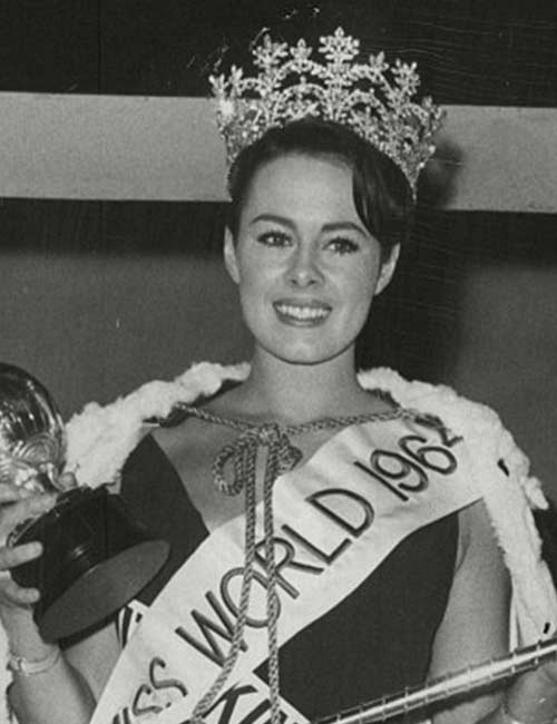 Miss World Of 1964 –Ann Sidney